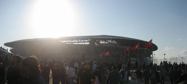 ガラタサライスタジアム(テュルクテレコムアレナ)