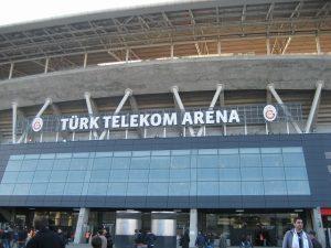 ガラタサライ新ホームスタジアムTurk Telekom Arena 通称 アレナ